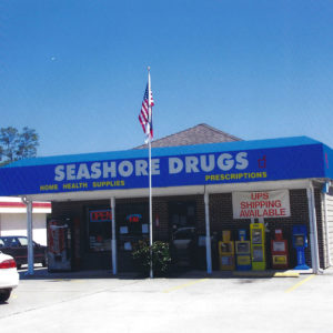 Seashore Drugs in Calabash, NC. 2003