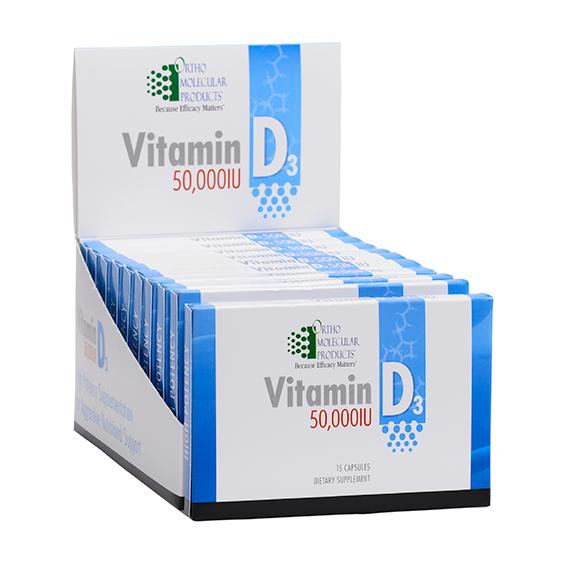 OrthoMolecular Vitamin D3
