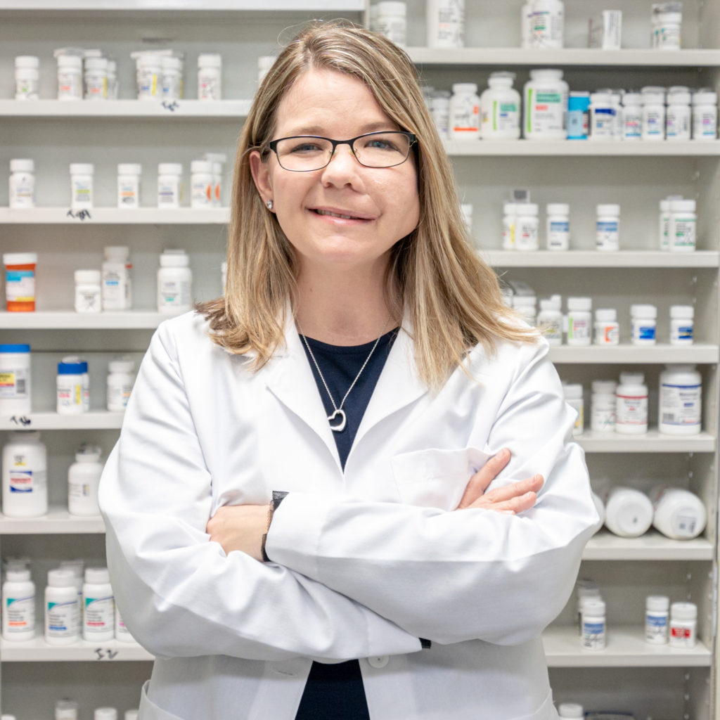 Carrie Danford pharmacist at Thomas Seashore Drugs Calabash, NC pharmacy