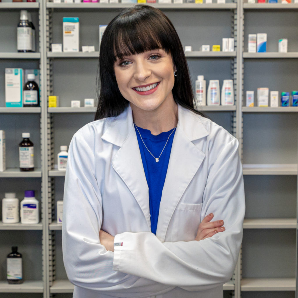 Lindsay Tincher pharmacist at Thomas Seashore Drugs, Little River SC pharmacy