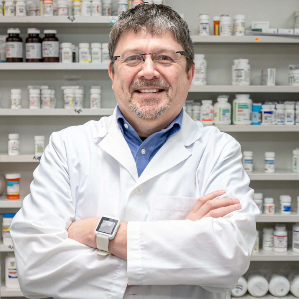 Walter Lupo compounding pharmacist at Thomas Seashore Drugs pharmacy